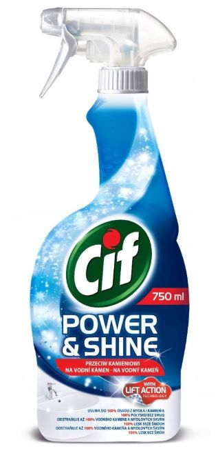 CIF POWER & SHINE spray do łazienek